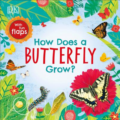 How Does a Butterfly Grow? (Life Cycle Board Books) Cover Image