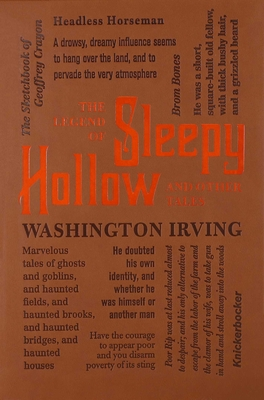 The Legend of Sleepy Hollow and Other Tales (Word Cloud Classics) Cover Image