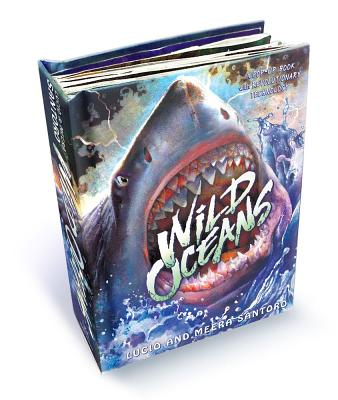 Wild Oceans: A Pop-up Book with Revolutionary Technology Cover Image