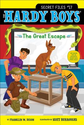 The Great Escape (Hardy Boys: The Secret Files #17) Cover Image