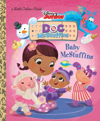 Baby McStuffins (Disney Junior: Doc McStuffins) (Little Golden Book) Cover Image