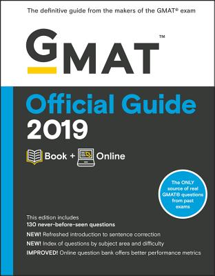 GMAT Official Guide 2019: Book + Online Cover Image