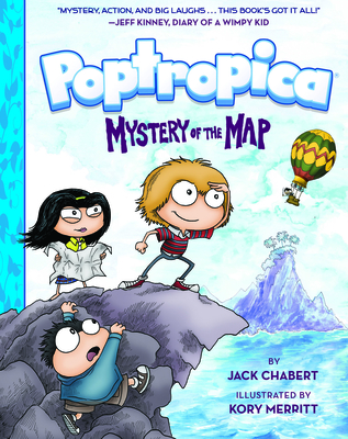 Mystery of the Map (Poptropica Book 1) Cover Image