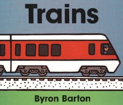 Trains Board Book Cover Image