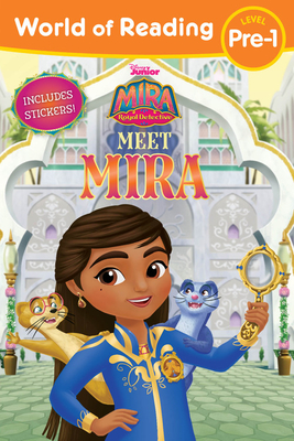 World of Reading Mira, Royal Detective Meet Mira (Level Pre-1 Reader with Stickers) Cover Image