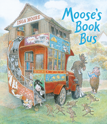 Moose's Book Bus Cover Image