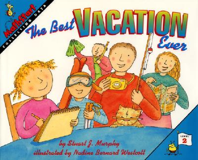 The Best Vacation Ever (MathStart 2 #1) Cover Image