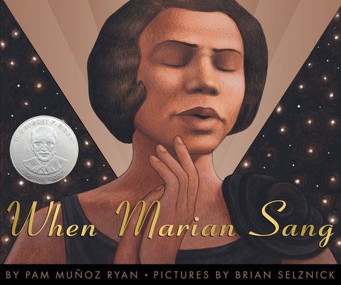 the cover page of When Marian Sang