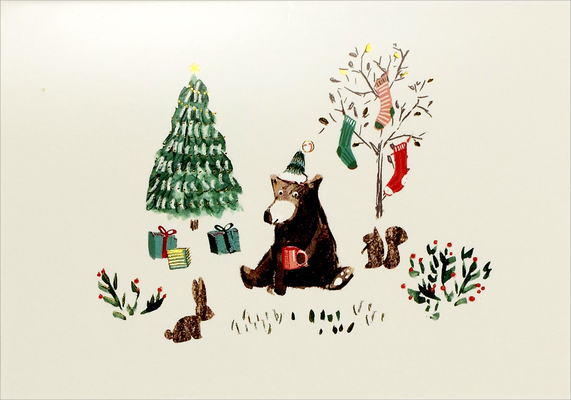 Beary Good Cheer Small Boxed Holiday Cards Cover Image