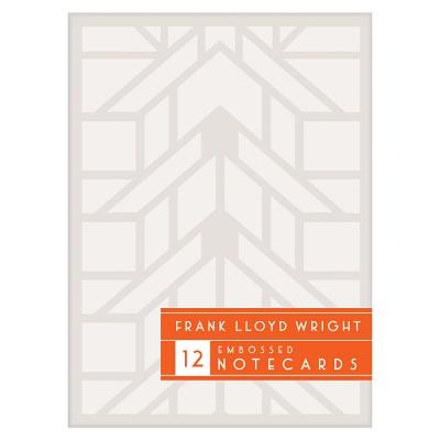 Frank Lloyd Wright Designs Embossed Notecard Set Cover Image