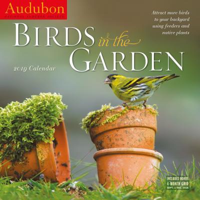 Audubon Birds in the Garden Wall Calendar 2019 Cover Image