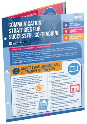 Communication Strategies for Successful Co-Teaching (Quick Reference Guide) Cover Image