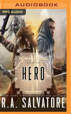 Hero (Legend of Drizzt: Homecoming #3) Cover Image