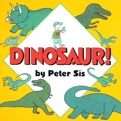 Dinosaur! Board Book Cover Image