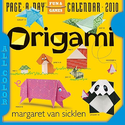 Cover for Origami Page-A-Day Calendar 2010