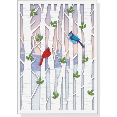 Mini Box: Birds in Birches Laser Cover Image