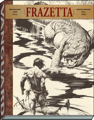 Frazetta Sketchbook (Vol II) (Vanguard Frazetta Classics) Cover Image