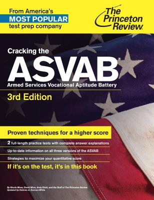 Cracking the ASVAB Cover