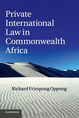 Private International Law in Commonwealth Africa Cover Image