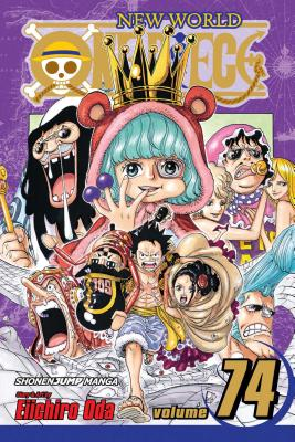 One Piece, Vol. 74 Cover Image