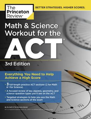 Math & Science Workout for the ACT, 3rd Edition cover image