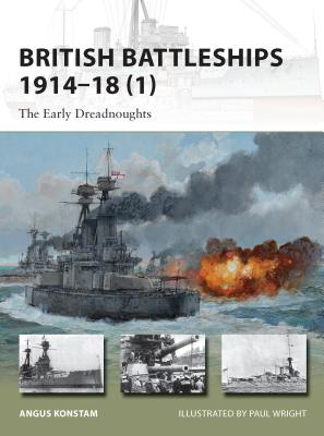 British Battleships 1914-18 (1) Cover