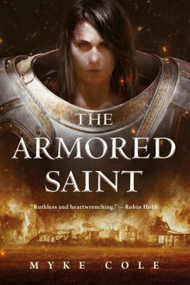 The Armored Saint (The Sacred Throne #1) Cover Image