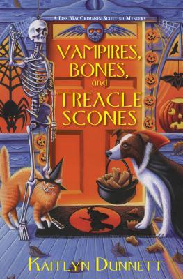 Vampires, Bones, and Treacle Scones Cover
