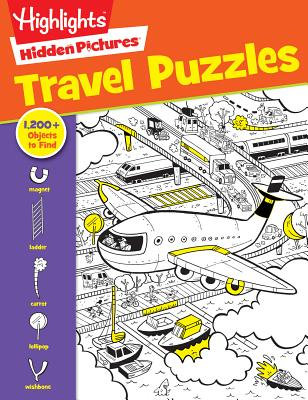 Travel Puzzles (Highlights Hidden Pictures) Cover Image