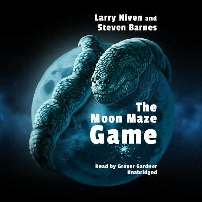 Cover for The Moon Maze Game (Dream Park #4)