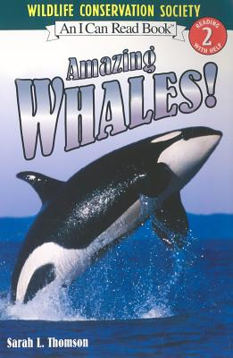 Amazing Whales! (I Can Read Level 2) Cover Image