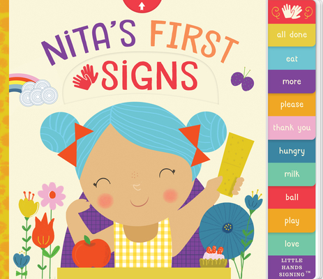 Nita's First Signs (Little Hands Signing #1) Cover Image