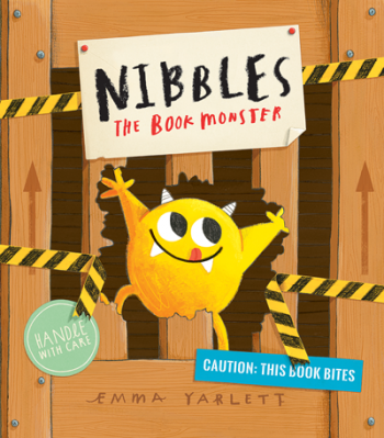 Nibbles the Book Monster Cover Image