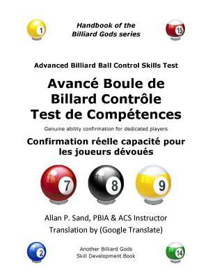 Avance Boule de Billard Controle Test de Competences: Confirmation Réelle Capacité Pour Les Joueurs Dévoués Cover Image
