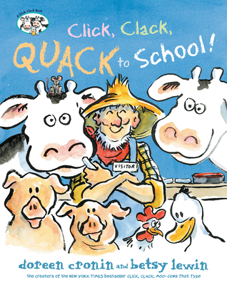 Click, Clack, Quack to School! Cover Image