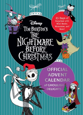 The Nightmare Before Christmas: Official Advent Calendar: Ghoulish Delights Cover Image