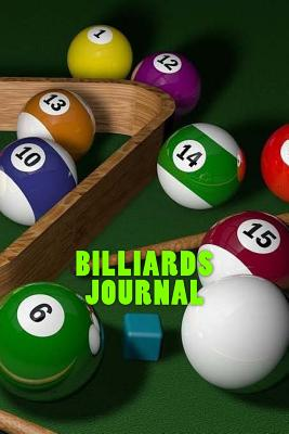 Billiards Journal Cover Image