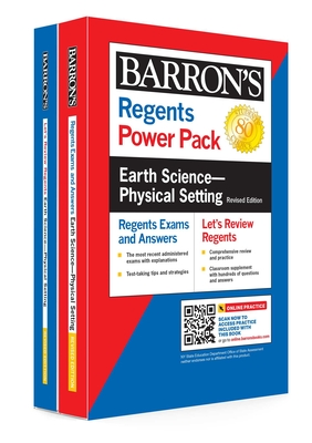 Regents Earth Science--Physical Setting Power Pack Revised Edition (Barron's Regents NY) Cover Image