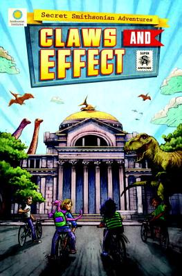 Claws and Effect (Secret Smithsonian Adventures #2) Cover Image