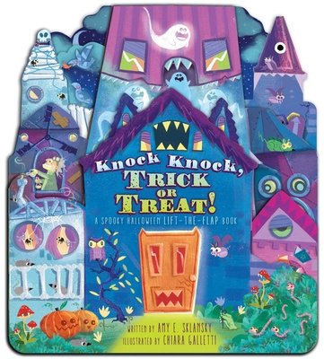 Knock Knock, Trick or Treat!: A Spooky Halloween Lift-the-Flap Book Cover Image