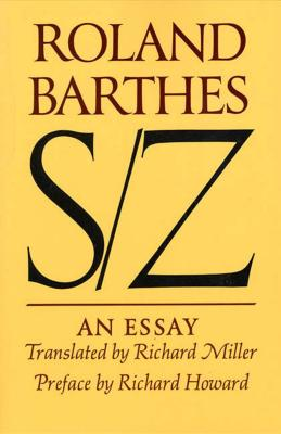 S/Z: An Essay Cover Image