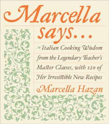 Marcella Says... Cover