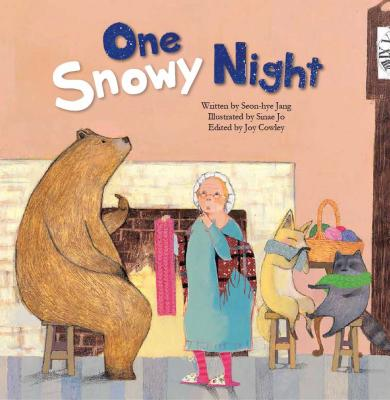One Snowy Night: Measuring with Body Parts (Math Storybooks) Cover Image