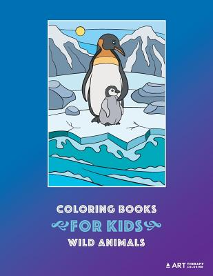 Coloring Books For Kids: Wild Animals: Animal Habitats: Coloring for Boys & Girls of all Ages, Toddlers, Beginner Friendly Designs, Elephants, Cover Image