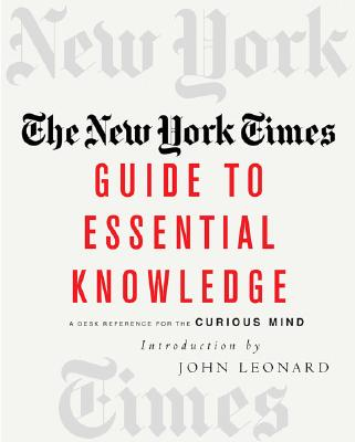 Cover for The New York Times Guide to Essential Knowledge