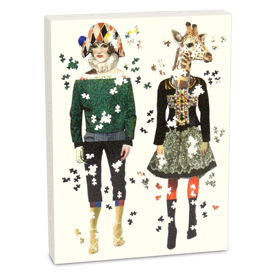 Christian LaCroix Heritage Collection Love Who You Want 750 Piece Shaped Puzzle Set Cover Image
