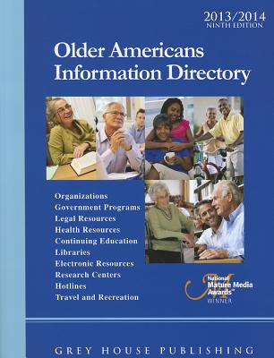 Cover for Older Americans Information Directory, 2012