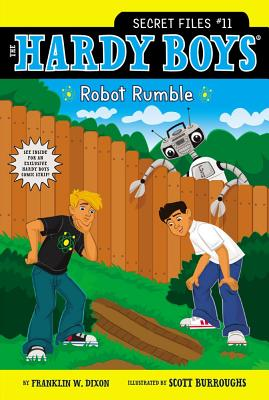 Robot Rumble (Hardy Boys: The Secret Files #11) Cover Image