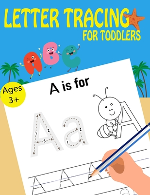 Letter Tracing For Toddlers Cover Image