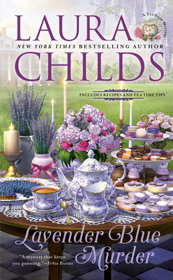 Lavender Blue Murder (A Tea Shop Mystery #21) Cover Image